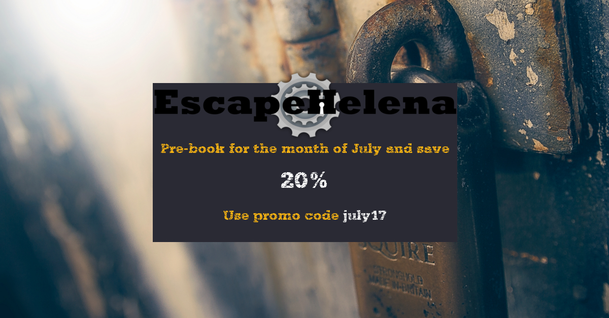 escape helena s july discount escape helena